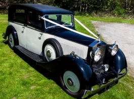 1935 Rolls Royce for wedding hire in Barnet